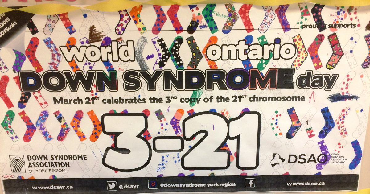 World Down Syndrome Day 3 -21