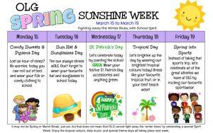 OLG Spring Sunshine Week